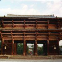 東大寺南大門 Nandaimon, Нара