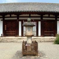 shin-yakushiji,新薬師寺 本堂, Сакураи