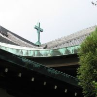 Roof of Christ Church Nara/奈良キリスト教会, Сакураи