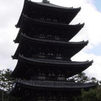 Nara Kofuku- ji-Temple, five storey pagode  1.1293, Сакураи