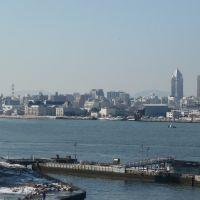 Niigata Port from Ferry, NIIGATA, Нагаока
