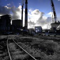 Hokuetsu kishu paper Niigata plant 北越紀州製紙新潟工場 [ys-waiz.net], Нагаока