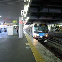 Marine Liner, JR Okayama station platform, Курашики
