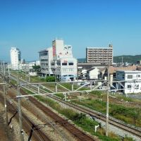瀬戸大橋線(宇野線)と山陽本線の交差, Курашики