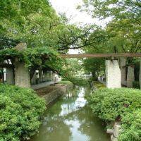 西川緑道公園, Окэйама