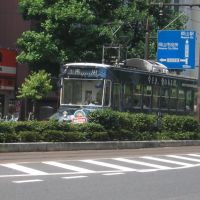 路面電車(岡山市)-2, Окэйама