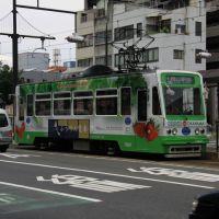 路面電車(岡山市) 1-2010/07/25, Окэйама