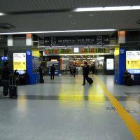 JR Okayama Station ticket gate, Окэйама