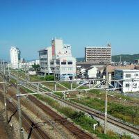 瀬戸大橋線(宇野線)と山陽本線の交差, Окэйама