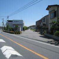 川西側線の跡地, Хираката