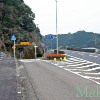 お遍路 38番金剛福寺までの道のり「歩きはまっすぐ左」南 2012, Имари