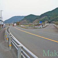 お遍路 38番金剛福寺までの道のり「国道56号線に出る」南 2012, Каратсу
