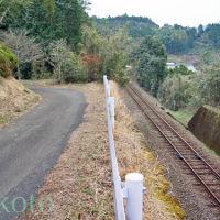 お遍路 38番金剛福寺までの道のり「くろしお中村線が見える」南 2012, Тосу