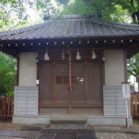 さいたま市浦和区にて 調神社境内の金毘羅神社 2012.9.22, Вараби