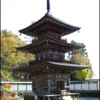 Pagoda of Kozanji Temple, Кумагэйа