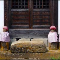 The Six Small Jizo of Kozanji Temple, Ogawa Village, Отсу