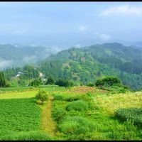 Rural scenery of Ogawa village, Изумо