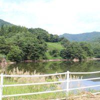 秋田県横手市 倉刈沢上流 真人山のダム Mt.Mato dam, Масуда