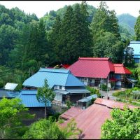 Remote but Hightech Kurimoto Hamlet, Ogawa Village, Матсуэ