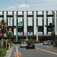 Oyama station of the JR East New Tohoku Line in Tochigi prefecture. Taken on May 05, 2010. 小山駅, 東北新幹線, JR東日本, 栃木県, Ояма