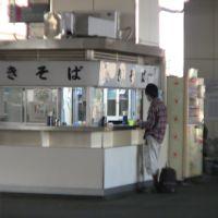 小山駅構内立ち食いそば店 「きそば」 SOBA Noodle stand in Oyama station, Ояма