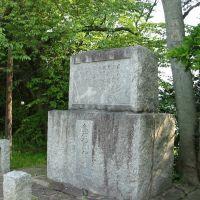 島村抱月碑(浜田城跡), Хамада