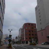 浜田駅前のビル街, Хамада