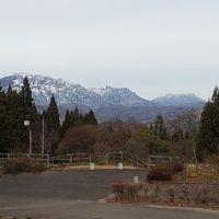 大洞峠から戸隠山、飯綱山を見る 長野県道36号線, Хамаматсу