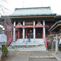 Hon-dō, Chiba-dera Temple  千葉寺 本堂  (2009.02.11), Ичикава