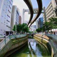 Yoshikawa River, Chiba City 葭川 [ys-waiz.net], Ичикава