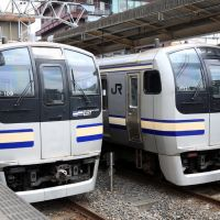 JR East E217 EMU sets at Chiba 2007, Ичикава