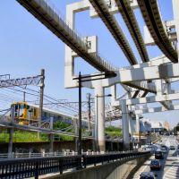 Chiba City 千葉都市モノレール 総武本線特急E257系, Ичикава