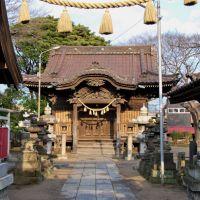 Inari-Jinja  稲荷神社  (2009.02.11), Матсудо