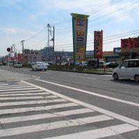 国道128号線(茂原市役所付近), Мобара