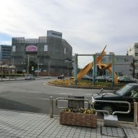 JR茂原駅南口 JR Mobara station south square, Chiba pref., Мобара