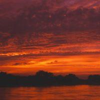 2002 09 江戸川を染める夕焼け, Нода