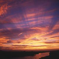 1999 08 広がる雲を彩る夕陽, Нода