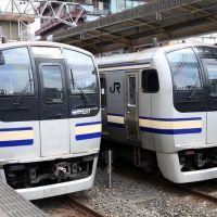 JR East E217 EMU sets at Chiba 2007, Татиама