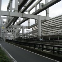 Monorail in Chiba, Фунабаши
