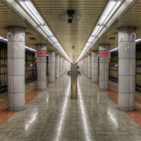 Etchujima Station Keiyo Line platform (227), Мачида