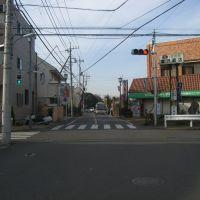 八幡山一丁目から深大寺までの通り・滝坂道32(上ノ原五差路), Митака