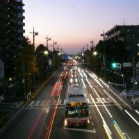 東八道路(新川交番前六叉路), Митака
