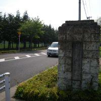 旧調布飛行場門柱, Митака