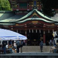 """Tomioka-hachiman"" Shrine 20060715-093621, Тачикава"