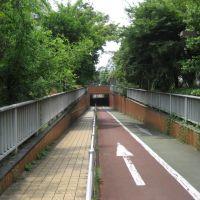 Suzakigawa Ryokudokoen Underpass, Токио