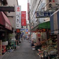 A backstreet of Kameido, Токио
