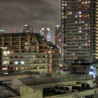 Furuishiba skyline, Koto-ku (286), Токио