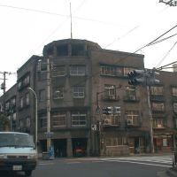 Dojunkai Kiyosuna dori Apartment=Dismantlement in 2002,Koto ward 同潤会清砂通アパート=2002年解体(東京都江東区), Хачиойи