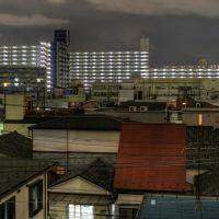 View southeast in Etchujima 2-chome (217), Хачиойи
