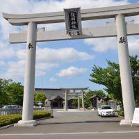 徳島県護国神社 大鳥居, Анан